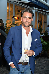 Explorer Leveson Wood at the Aspall Tennis Classic Players Party hosted by Aspall and Taylor Morris Eyewear at Bluebird, 350 King's Road, Chelsea, London England. 28 June 2017.<br /> Photo by Dominic O'Neill/SilverHub 0203 174 1069/ 07711972644 - Editors@silverhubmedia.com