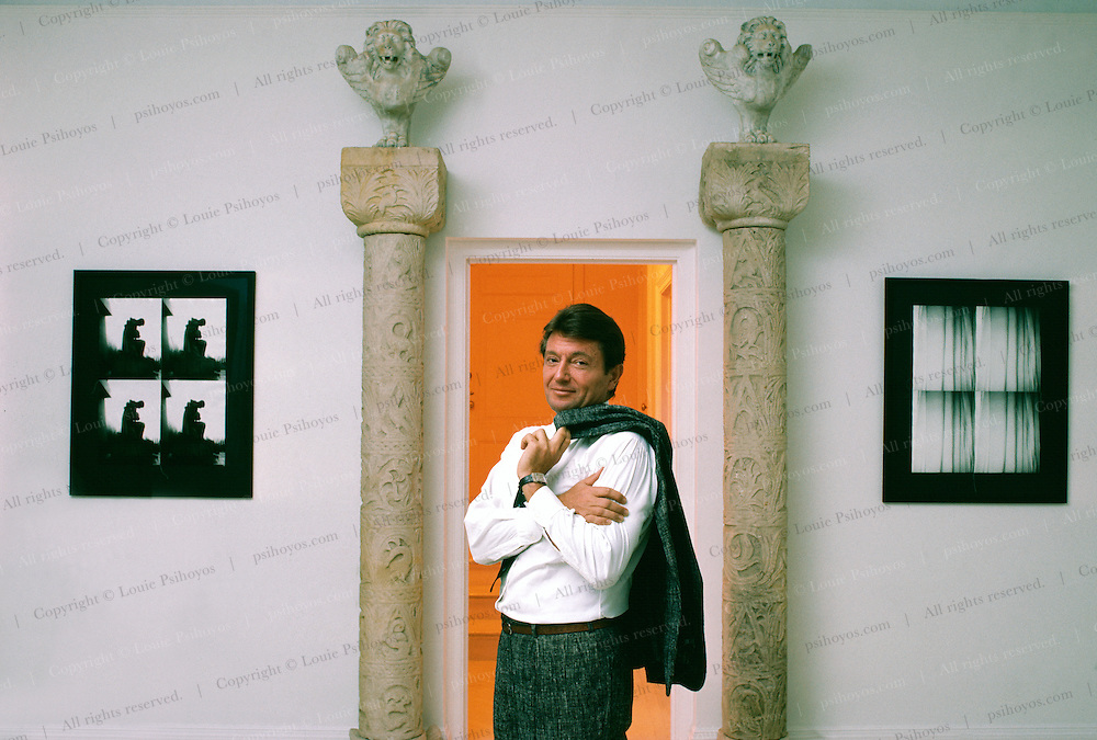 Robert Miller, New York Gallery Owner at his 57th Street Gallery.