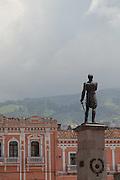Statue of Mariscal Sucre Plaza Santo Domingo Quito, Ecuador, South America