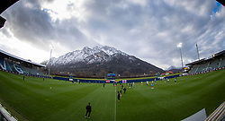GRÖDIG, AUSTRIA - Tuesday, December 10, 2019: A general view before the final UEFA Youth League Group E match between FC Salzburg and Liverpool FC at the Untersberg-Arena. (Pic by David Rawcliffe/Propaganda)