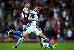 Elliott Ward of Blackburn Rovers - Mandatory by-line: Matt McNulty/JMP - 23/08/2017 - FOOTBALL - Ewood Park - Blackburn, England - Blackburn Rovers v Burnley - Carabao Cup - Second Round