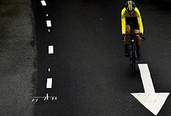 September 22, 2017 - Bergen, NORWAY - 170922 Gustav HÅ¡Å¡g of Sweden competes during the Men Under 23 Road Race on September 22, 2017 in Bergen..Photo: Vegard Wivestad GrÂ¿tt / BILDBYRN / kod VG / 170024 (Credit Image: © Vegard Wivestad Gr¯Tt/Bildbyran via ZUMA Wire)