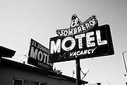 El Sombrero motel in Salinas, California.