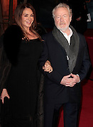Dec 3, 2014 - Exodus: Gods And Kings World Premiere - VIP Red Carpet Arrivals at Odeon,  Leicester Square, London<br /> <br /> Pictured: Giannina Facio; Ridley Scott<br /> ©Exclusivepix Media