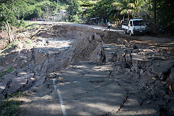 Flooding and landslides across Honduras after hurricanes Eta and Iota washed away roads, farms and houses.
