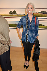 The HON.SOPHIA HESKETH at a private view of photographs by Jolyon Fenwick 'The Zero Hours Panoramas' 100 Years On: Views From The Parapet of The Somme held at Sladmore Contemporary, 32 Bruton Place, London on 30th June 2016.