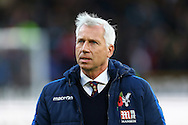 Crystal Palace Manager Alan Pardew looks on prior to kick off. Premier League match, Burnley v Crystal Palace at Turf Moor in Burnley , Lancs on Saturday 5th November 2016.<br /> pic by Chris Stading, Andrew Orchard sports photography.