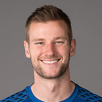 Feb 25, 2016; USA; Chicago Fire player Patrick McLain poses for a photo. Mandatory Credit: USA TODAY Sports