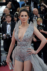 Frederique Bel attending the Rocketman premiere, held at the 72nd Cannes Film Festival on May 16, 2019.