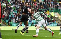 16/08/14 SCOTTISH PREMIERSHIP<br /> CELTIC v DUNDEE UTD<br /> CELTIC PARK - GLASGOW<br /> Celtic's Jo Inge Berget makes it 5-0 for the home side