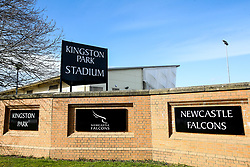 A general view of Kingston Park, home of Newcastle Falcons - Mandatory by-line: Robbie Stephenson/JMP - 03/03/2019 - RUGBY - Kingston Park - Newcastle upon Tyne, England - Newcastle Falcons v Worcester Warriors - Gallagher Premiership Rugby
