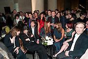 SUSAN PHILIPZ; TANYA BONAKDAR, , Turner Prize 2010. Tate Britain. Millbank. London. 6 December 2010. -DO NOT ARCHIVE-© Copyright Photograph by Dafydd Jones. 248 Clapham Rd. London SW9 0PZ. Tel 0207 820 0771. www.dafjones.com.