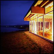 The evening at the Spa at Salishan Lodge, Lincoln City, OR
