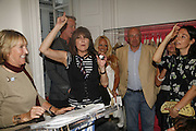 Ingrid Newkirk,  Chrissie Hynde and Mary McCartney. PETA's Humanitarian Awards, Stella McCartney, Bruton Street, London, W1. 28 June 2006. ONE TIME USE ONLY - DO NOT ARCHIVE  © Copyright Photograph by Dafydd Jones 66 Stockwell Park Rd. London SW9 0DA Tel 020 7733 0108 www.dafjones.com