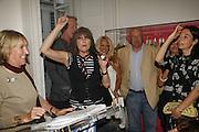 Ingrid Newkirk,  Chrissie Hynde and Mary McCartney. PETA's Humanitarian Awards, Stella McCartney, Bruton Street, London, W1. 28 June 2006. ONE TIME USE ONLY - DO NOT ARCHIVE  © Copyright Photograph by Dafydd Jones 66 Stockwell Park Rd. London SW9 0DA Tel 020 7733 0108 www.dafjones.com
