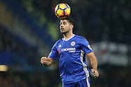 Diego Costa of Chelsea in action. Premier league match, Chelsea v Tottenham Hotspur at Stamford Bridge in London on Saturday 26th November 2016.<br /> pic by John Patrick Fletcher, Andrew Orchard sports photography.