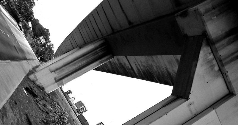 MARTA train overpass