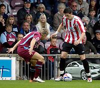 Photo: Jed Wee/Sportsbeat Images.<br /> Scunthorpe United v Sunderland. Pre Season Friendly. 21/07/2007.<br /> <br /> Sunderland's Greg Halford.