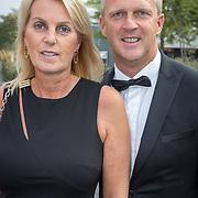 NLD/Hilversum/20180903 -   Voetbalgala 2018, John van de Born en patyner