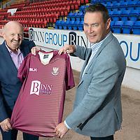 Binn Group Sponsor St Johnstone