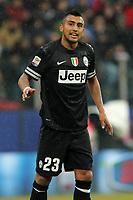 """Arturo Vidal Juventus.Parma 13/01/2013 Stadio """"Tardini"""".Football Calcio Serie A 2012/13.Parma v Juventus.Foto Insidefoto Paolo Nucci."""