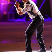 NLD/Hilversum/20130112 - 4e Liveshow Sterren Dansen op het IJs 2013, Christophe Haddad