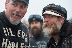 Hollywood and TROG organizer Mel Stultz at TROG West - The Race of Gentlemen. Pismo Beach, CA, USA. Saturday October 15, 2016. Photography ©2016 Michael Lichter.