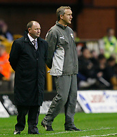 Photo: Steve Bond/Sportsbeat Images.<br /> Wolverhampton Wanderers v Bristol City. Coca Cola Championship. 03/11/2007. Impassive Gary Johnson