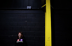 Rosa activist Keishia Taylor at the count centre in Dublin's RDS as votes are counted in the referendum on the 8th Amendment of the Irish Constitution which prohibits abortions unless a mother's life is in danger. Picture date: Saturday May 26, 2018. See PA story IRISH Abortion. Photo credit should read: Brian Lawless/PA Wire