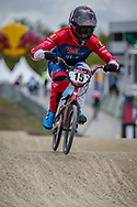 #15 (SEGERS Wouter) BEL during practice at Round 3 of the 2019 UCI BMX Supercross World Cup in Papendal, The Netherlands