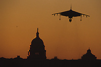 The US military brought assorted aircraft to the Mall in Washington, DC immediately following Desert Storm.