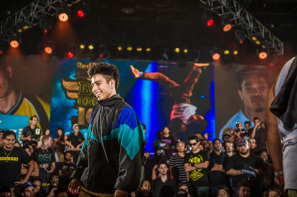 B-boy Vicious Victor at RedBull BCOne Cypher in Orlando, Florida on June 30th 2013.