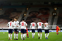 Football - 2021 UEFA European Under-21 Championship - Qualifying - Group 3 - England vs Andorra<br /> <br /> Curtis Jones of England celebrates scoring his sides first goal with Rhys Williams to make the score 1-0<br /> <br /> COLORSPORT/PAUL GREENWOOD