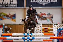 Riesenbeck, Pferdesportzentrum, RIESENBECK - Int. Deutsche Meisterschaften Springen 2020,<br /> <br /> WERNKE Jan (GER), Queen Mary 10<br /> CSI2*<br /> Int. Springprüfung (Fehler/Zeit) - 1.45 m<br /> <br /> 04. December 2020<br /> © www.sportfotos-lafrentz.de/Stefan Lafrentz