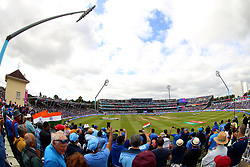 A general view before the ICC Cricket World Cup group stage match at Edgbaston, Birmingham.
