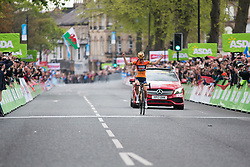 Lizzie Deignan (GBR) of Boels-Dolmans Cycling Team wins the Tour de Yorkshire - a 122.5 km road race, between Tadcaster and Harrogate on April 29, 2017, in Yorkshire, United Kingdom.