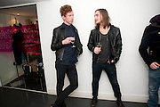 ERIK HASSLE; VICTOR PARONITTI,  My favorite dress book launch hosted by Susy Menkes and Zandra Rhodes. Fashion Museum. London. In Support of Save the Children. 11 January 2010