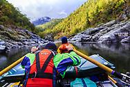 Flat sections.  #Riverlife #newfriends #RogueRiver # Rogue #River #Float #Paddle #Oregon #traveloregon #OregonLife, #exploregon #OregonLove #PNW #RiverRat @NRS #NRS @Kokatat #IntoTheWater @watershed_drybags@rafacuna @nhagood100 @hchagood & @taylorgvaughan