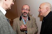 DOUGLAS GORDON, Susan Hiller opening, Tate Britain. 31 January 2010. -DO NOT ARCHIVE-© Copyright Photograph by Dafydd Jones. 248 Clapham Rd. London SW9 0PZ. Tel 0207 820 0771. www.dafjones.com.