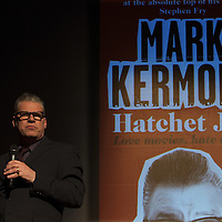 Mark Kermode<br /> On stage at the Stoke Newington Literary Festival. 7 June 2014<br /> <br /> Picture by David X Green/Writer Pictures