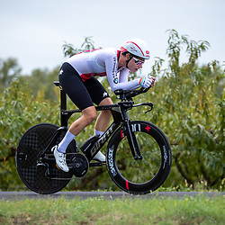 24-09-2020: wielrennen: WK tijdrit vrouwen: Imola<br /> Marlen Reusser (Switzerland)