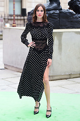 Alexa Chung arriving for Royal Academy of Arts Summer Exhibition Preview Party 2019 held at Burlington House, London. Picture date: Tuesday June 4, 2019. Photo credit should read: Matt Crossick/Empics. EDITORIAL USE ONLY.
