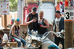 The Broken Spoke Saloon during Daytona Beach Bike Week 2015. FL, USA. Tuesday March 10, 2015.  Photography ©2015 Michael Lichter.