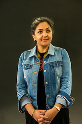 Pictured: Preti Taneja is research fellow in global Shakespeare at Queen Mary, University of London, and Warwick University and an AHRC/BBC New Generation Thinker 2014. She writes about human rights, contemporary India, literature and culture and is the editor of Visual Verse, an online anthology of art and words.<br /> Book fanatics headed to Charlotte Square in Edinburgh which is the hub of the international Book Festival to meet the authors and also to meet up with fellow fans of the printed word.<br /> <br /> <br /> Ger Harley | EEm 21 August 2017