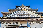 Osaka Castle, Osaka, Kansai, Japan