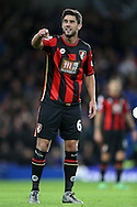 Andrew Surman of Bournemouth in action. Barclays Premier league match, Chelsea v AFC Bournemouth at Stamford Bridge in London on Saturday 5th December 2015.<br /> pic by John Patrick Fletcher, Andrew Orchard sports photography.