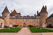 The medieval Chateau de Rully in Cote Chalonnaise, Bourgogne.