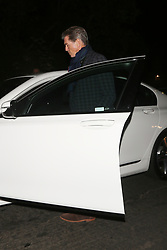 **PREMIUM EXCLUSIVE** Actor Pierce Brosnan attends a fundraiser held at Gerard Butler's house for the Malibu Fire Relief in West Hollywood. A few days ago, Pierce went to Malibu to assess the damage that was done to his property due to the raging wildfires that swept through Malibu. Butler, Robin Thicke, and Miley Cyrus were among thousands who lost their homes to the blazes, which have killed at least 74 people across the state. Up to a thousand are still unaccounted for. The 300 star invited his A-list friends to his West Hollywood home for the cause, hoping to raise at least $1million for fire relief. Remains of at least 74 people have been recovered so far in California. 71 of the victims are from the Camp Fire around the Sierra foothills hamlet of Paradise and three are from the Woolsey Fire near Los Angeles. Of the dead, 13 victims are yet to be identified. The once picturesque town was home to nearly 27,000 residents before it was largely incinerated by the deadly Camp Fire on the night of November 8. More than a week later, a team of more than 9,000 firefighters have managed to carve containment lines around 45 percent of the blaze's perimeter, up from 35 percent a day earlier. The powerful fire razed through more than 142,000 acres in a little over a week. Nearly 12,000 homes and buildings, including most of the town of Paradise, were incinerated hours after the blaze erupted, the California Department of Forestry and Fire Protection (Cal Fire) has said. Thousands of additional structures are still threatened by the Camp Hill fire, and as many as 50,000 people were under evacuation orders at the height of the blaze. 17 Nov 2018 Pictured: Pierce Brosnan. Photo credit: Rachpoot/MEGA TheMegaAgency.com +1 888 505 6342