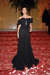 MONICA BELLUCI at a party to celebrate the launch of the 'Inde Mysterieuse' jewellery collection held at Lancaster House, London SW1 on 19th September 2007.<br />