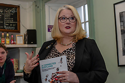 Pictured: Christina McKelvie<br />Minister for Older People and Equalities Christina McKelvie visited Bridgend Farmhouse in Edinburgh today and met with the board and volunteers to discuss the strategy and the many activities taking place. <br /><br />Ger Harley | EEm 18 December 2018